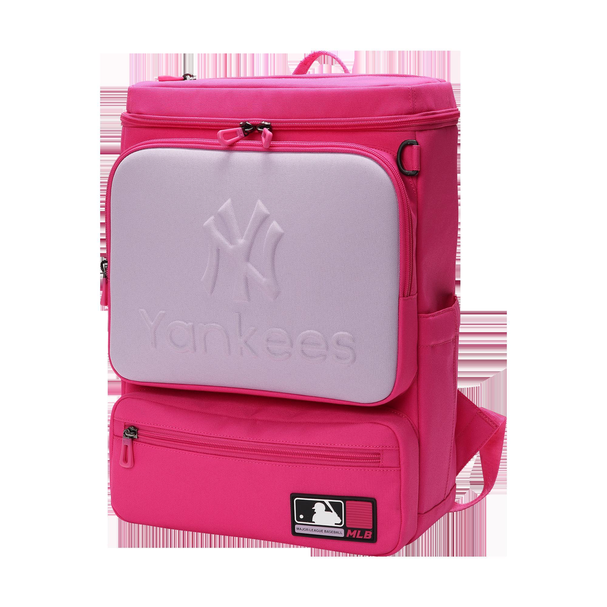 MLBKIDS SCHOOL BAG STAMP HALF-FORMING SQUARE BACKPACK