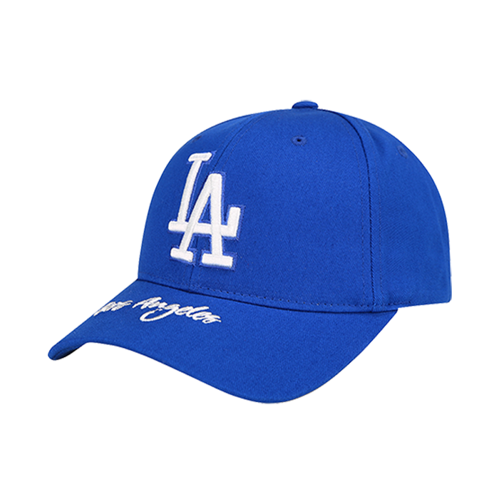 WORDING POINT LA DODGERS CURVE CAP