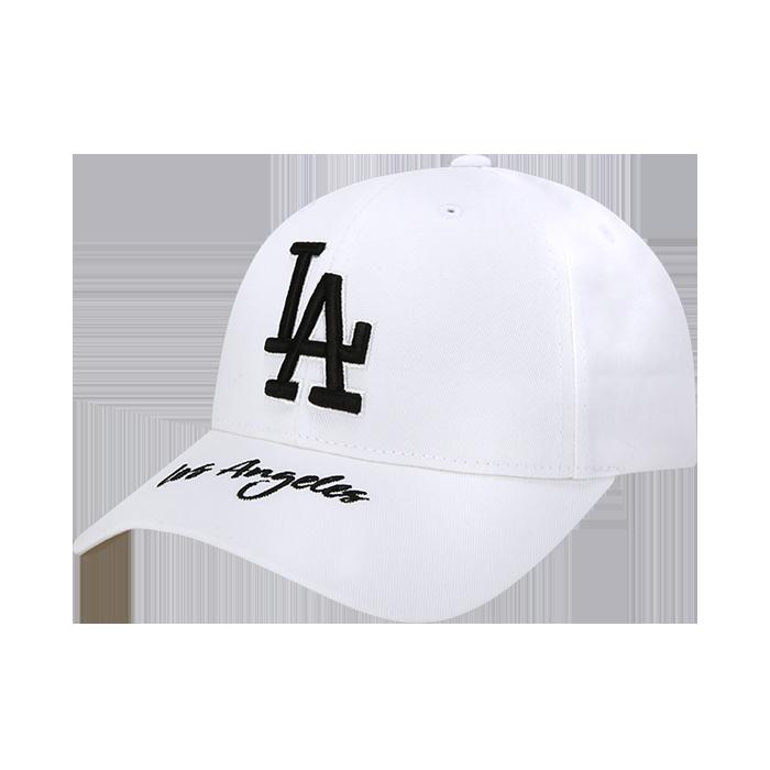 WORDING POINT LA DODGERS CURVE CAP
