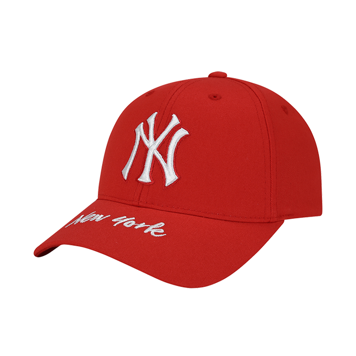 NEW YORK YANKEES WORDING POINT CURVE CAP