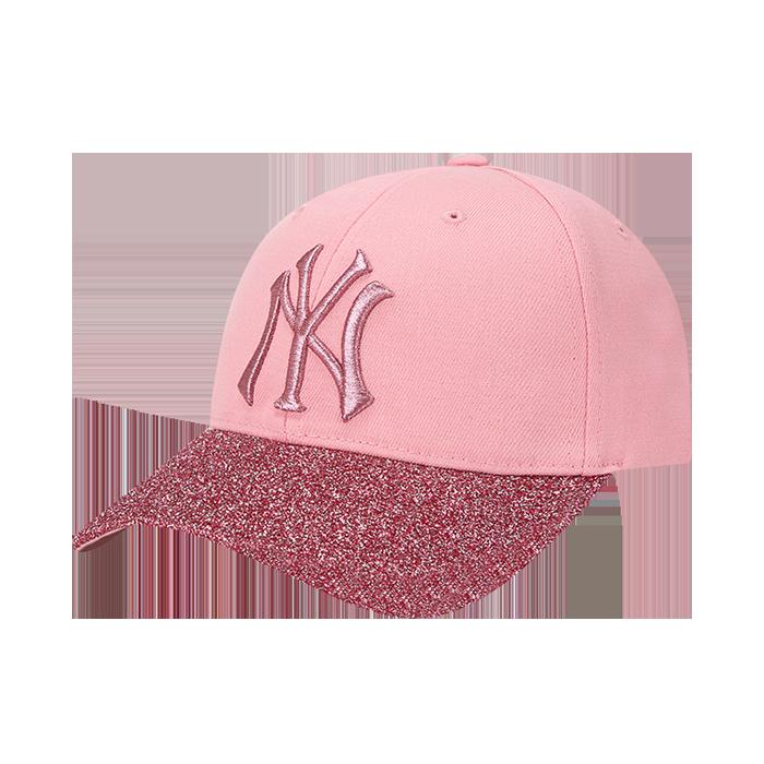 GLITTER BRIM NEW YORK YANKEES CURVE CAP