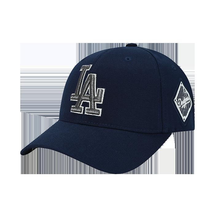 LA DODGERS ORIGINAL SIDE WAPPEN CURVE CAP