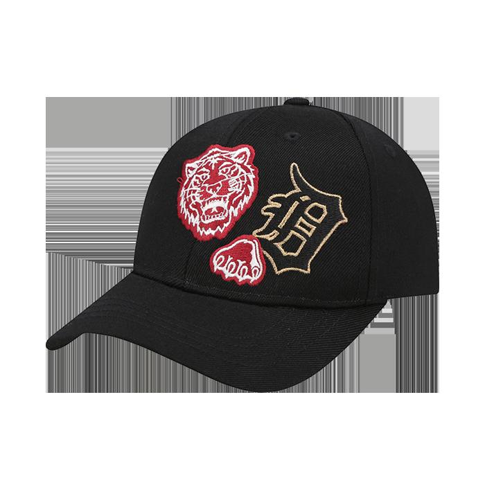 DETROIT TIGERS PATCH EMBROIDERY CURVE CAP