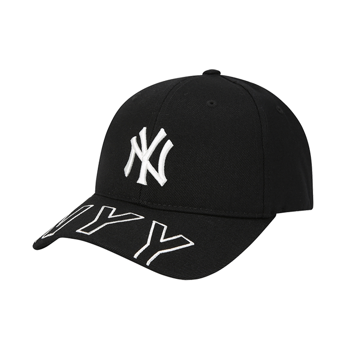 NEW YORK YANKEES BRIM LOGO KEY RING CURVE CAP