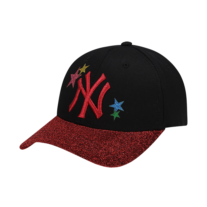 NEW YORK YANKEES STAR POINT RAINBOW CURVE CAP