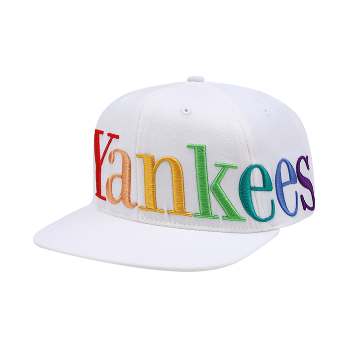 NEW YORK YANKEES RAINBOW LOGO SNAPBACK
