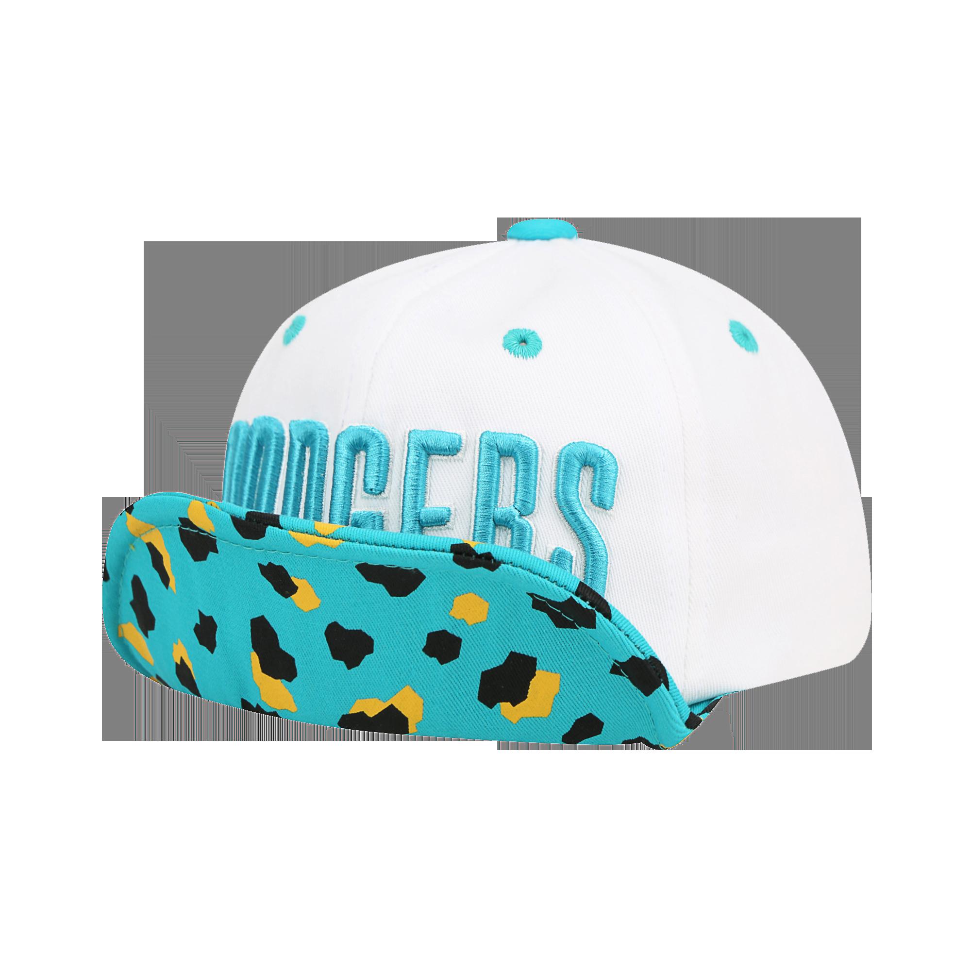 LA DODGERS COLOR LEOPARD WIRED CAP