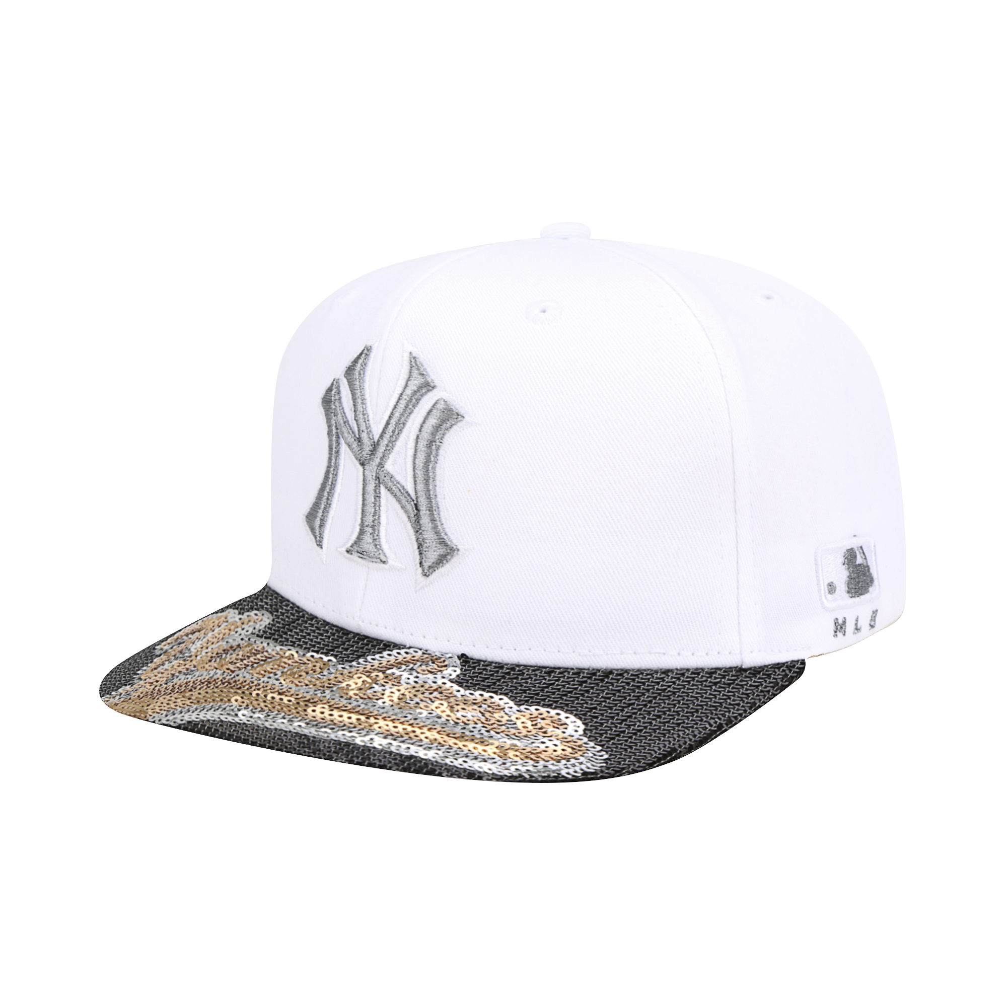NEW YORK YANKEES LUX TWINKLE SHINE SNAPBACK