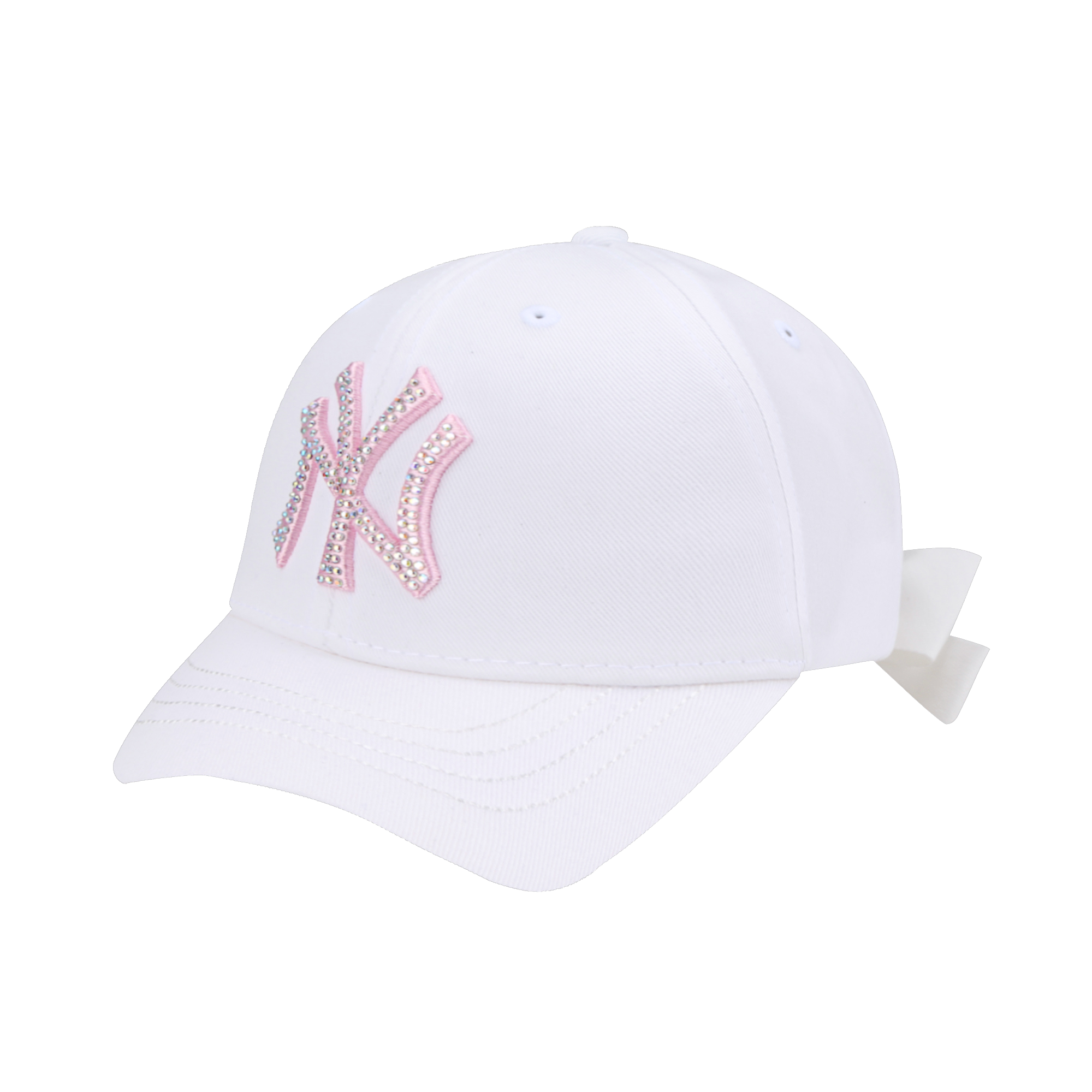 NEW YORK YANKEES ICE CREAM RIBBON SHORT VISOR