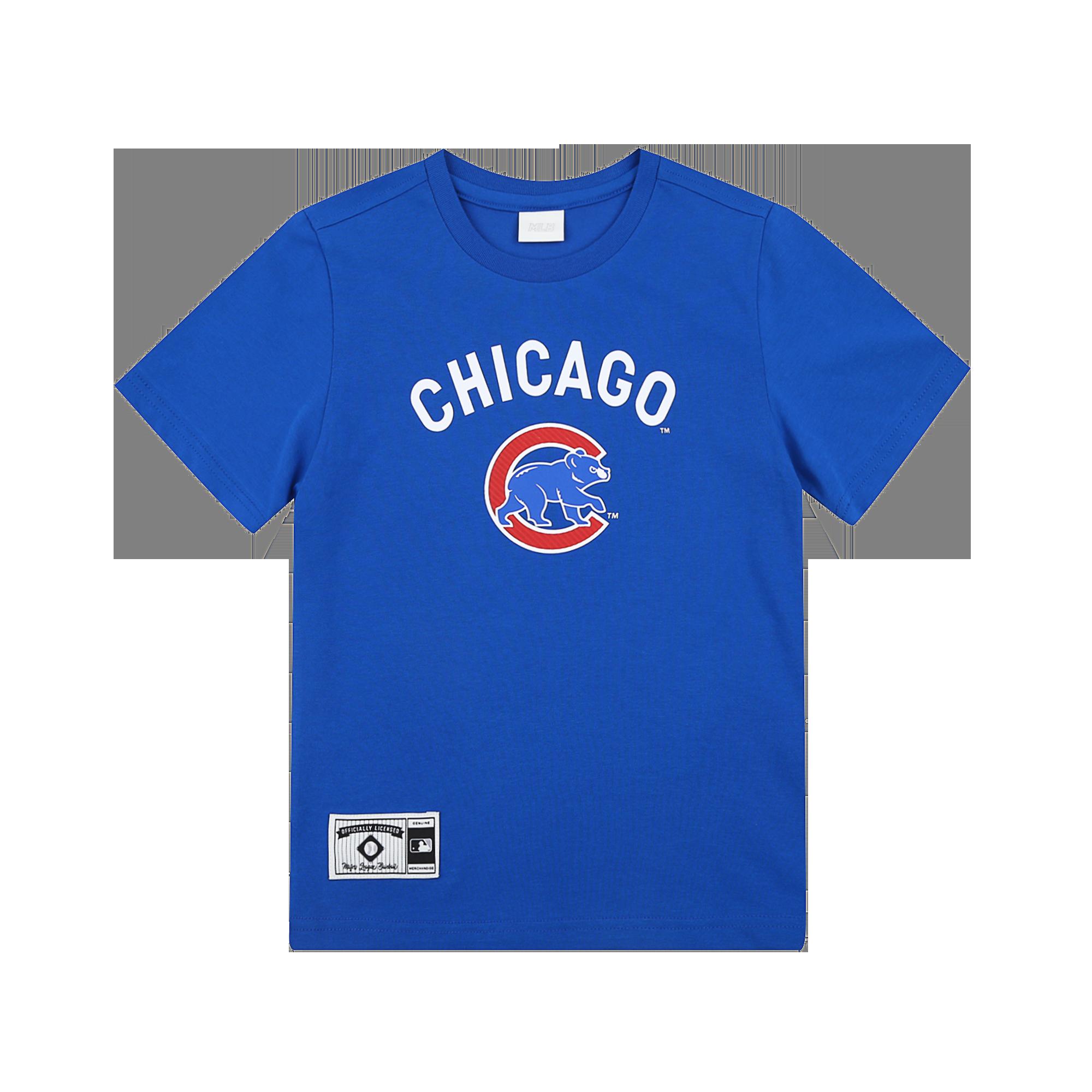 CHICAGO CUBS BASEBALL TEAM SHORT SLEEVE T-SHIRT