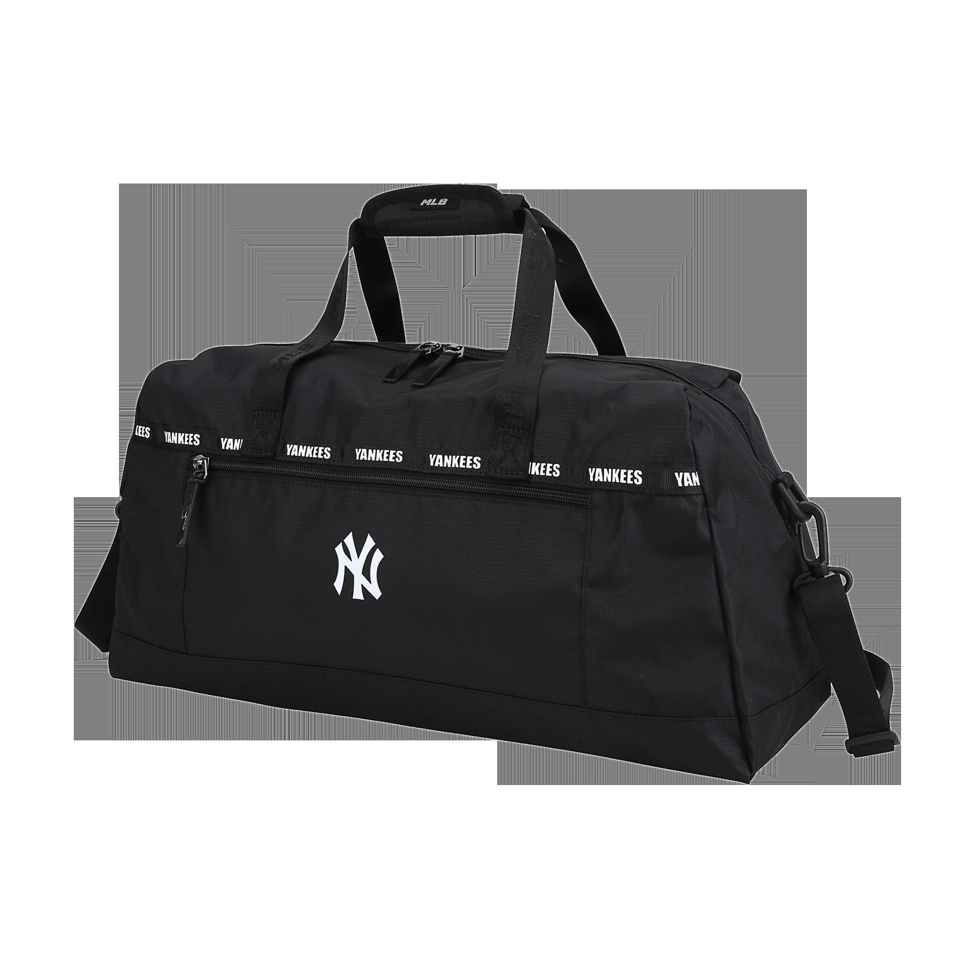 NEW YORK YANKEES TAPE DETAIL DUFFLE BAG