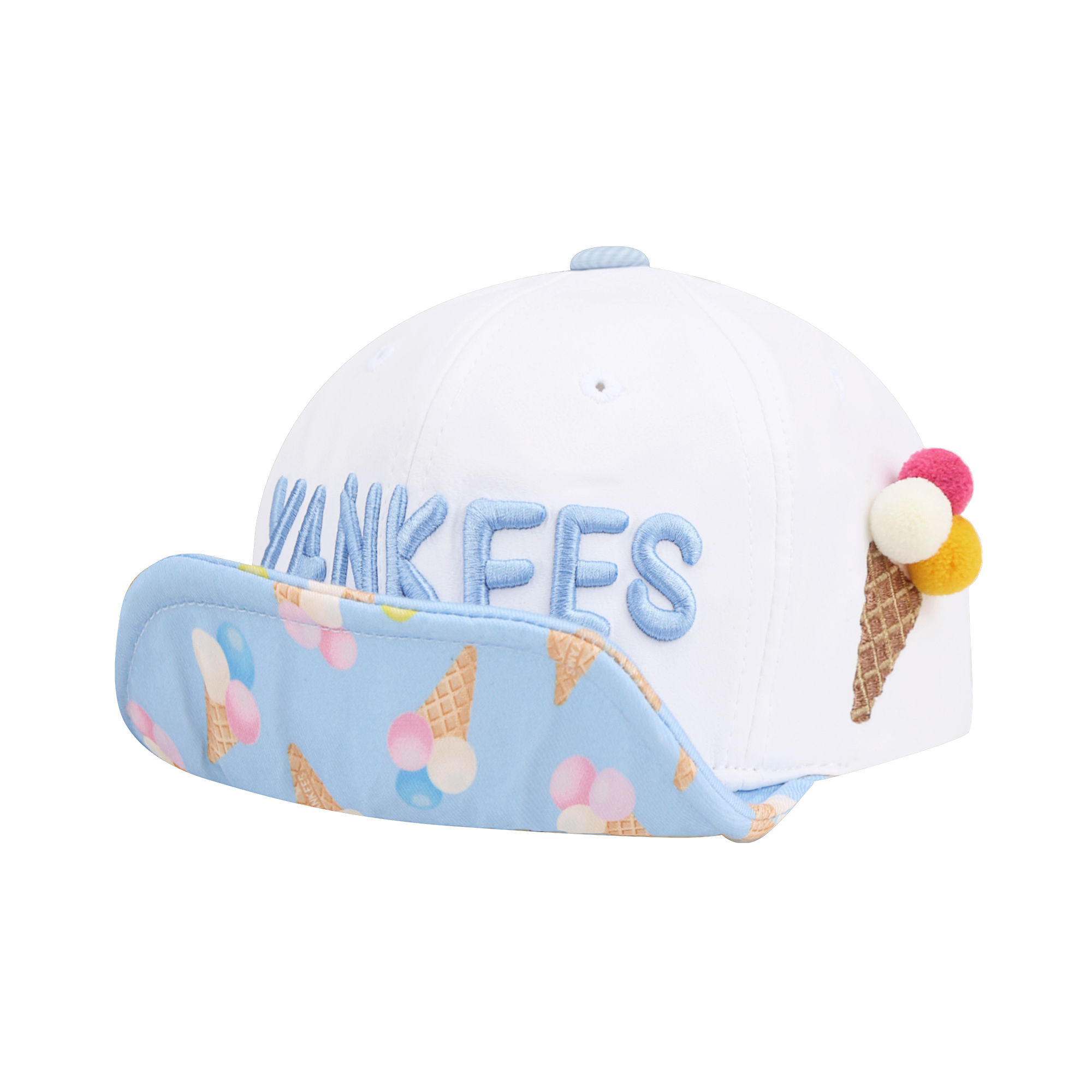 NEW YORK YANKEES ICE CREAM WIRED CAP