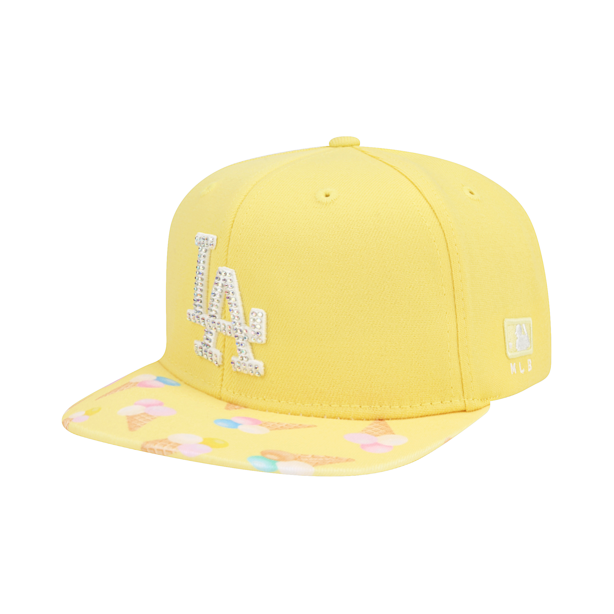 LA DODGERS PICNIC IN THE PARK FLAT VISOR SNAPBACK