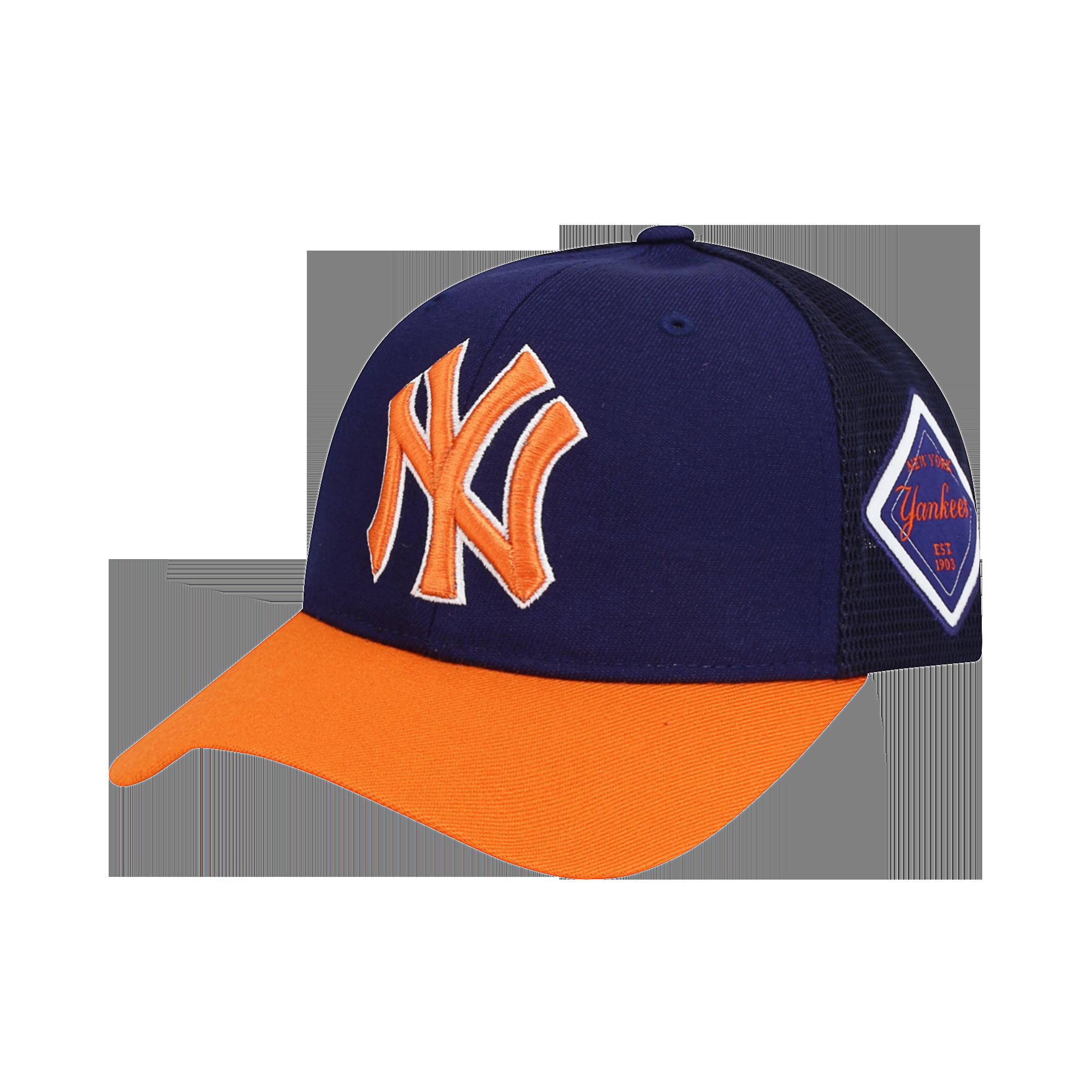 NEW YORK YANKEES BASIC MESH CURVED CAP
