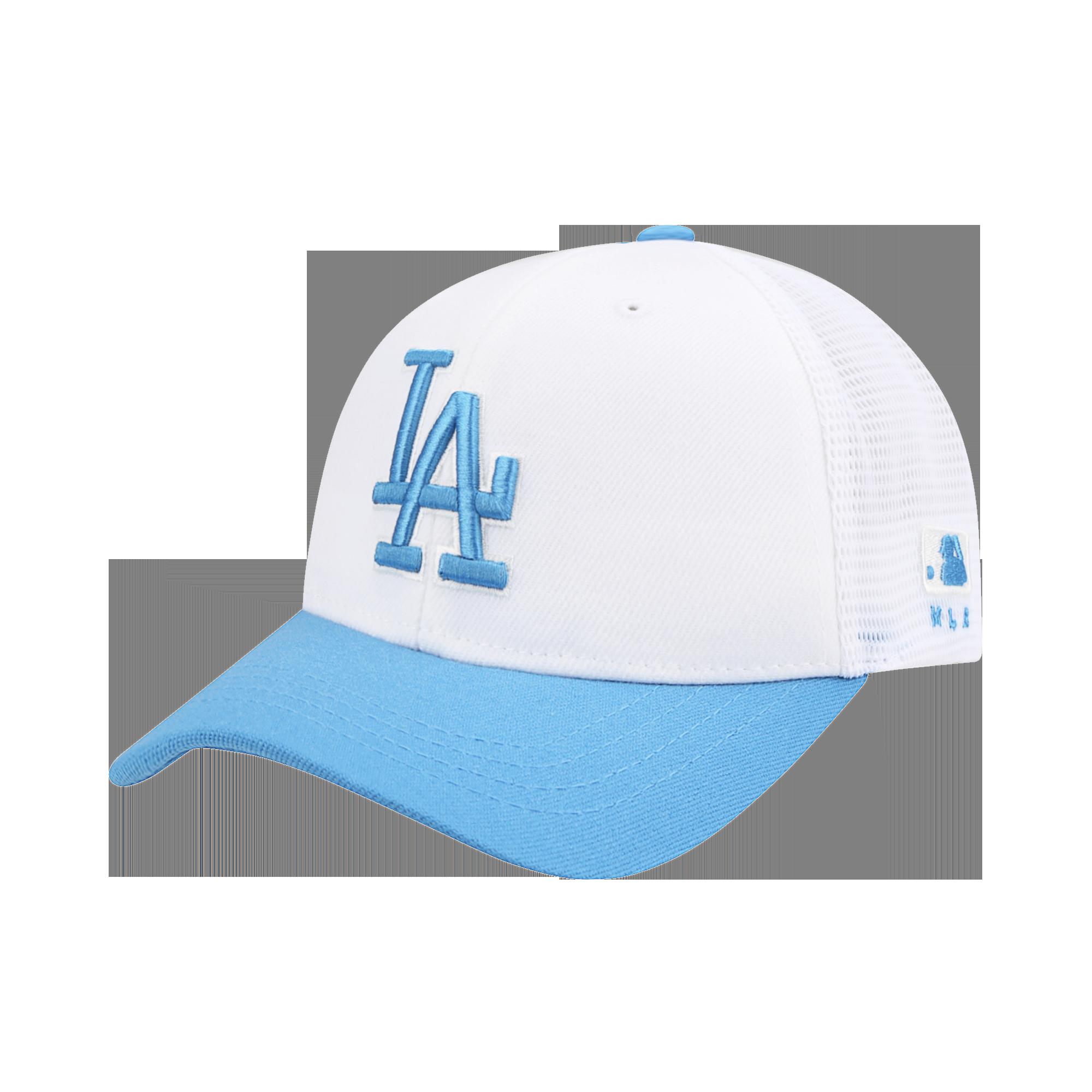 LA DODGERS CHARACTER MESH CURVED CAP