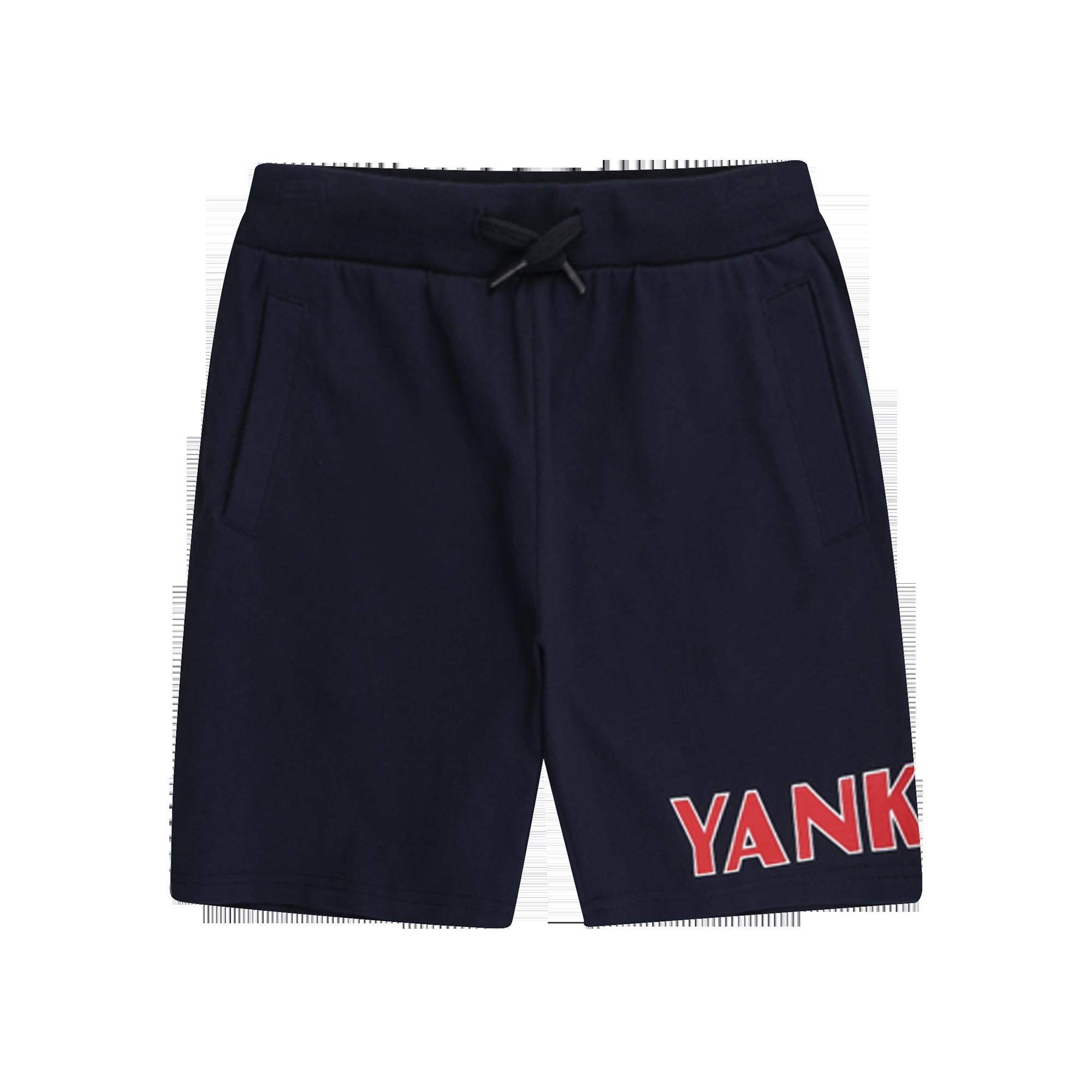 NEW YORK YANKEES UNISEX WORDING LOGO KNEE LENGTH PANTS