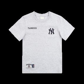 NEW YORK YANKEES MESH TEAM LOGO SHORT SLEEVE T-SHIRT