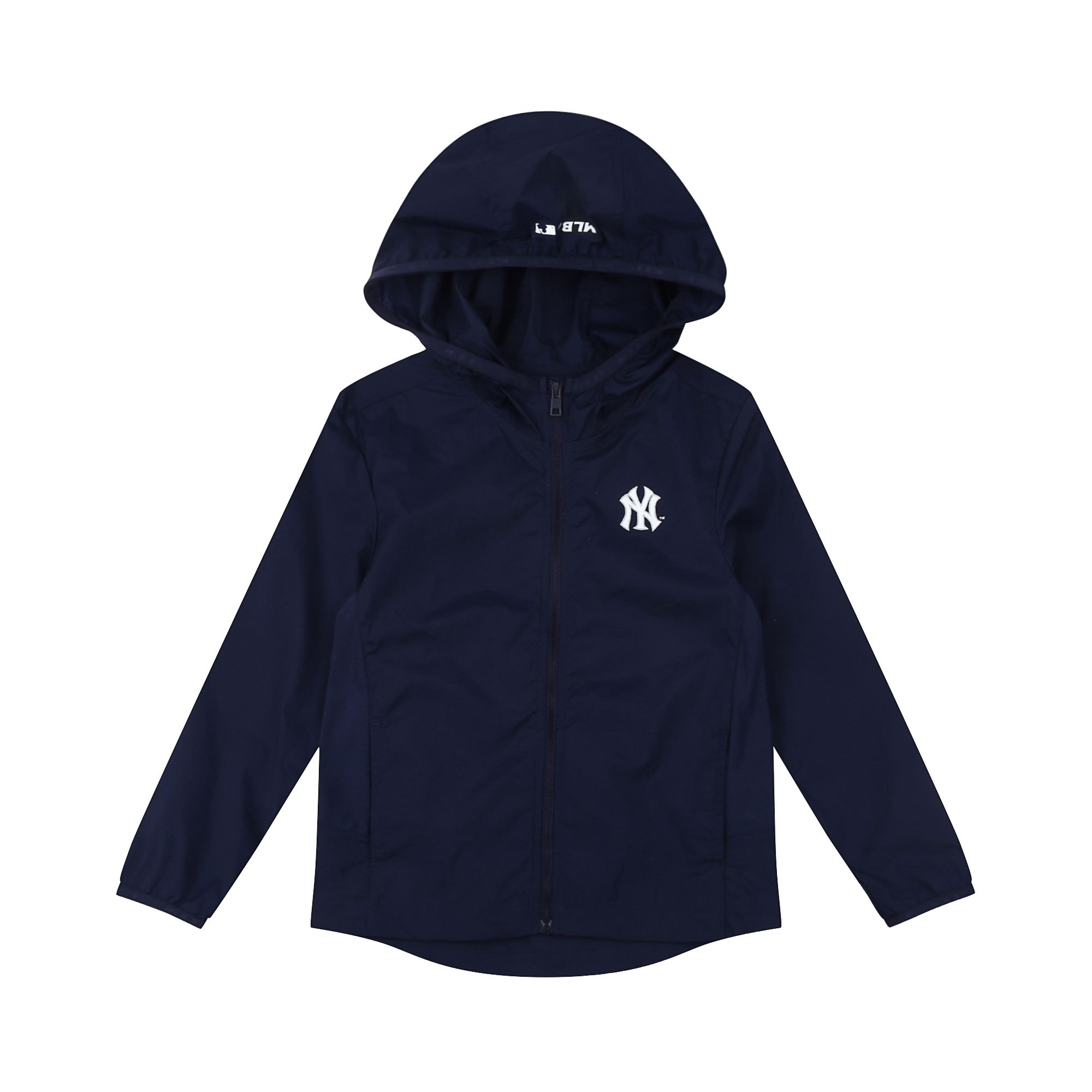NEW YORK YANKEES BACK LOGO POINT WINDBREAKER