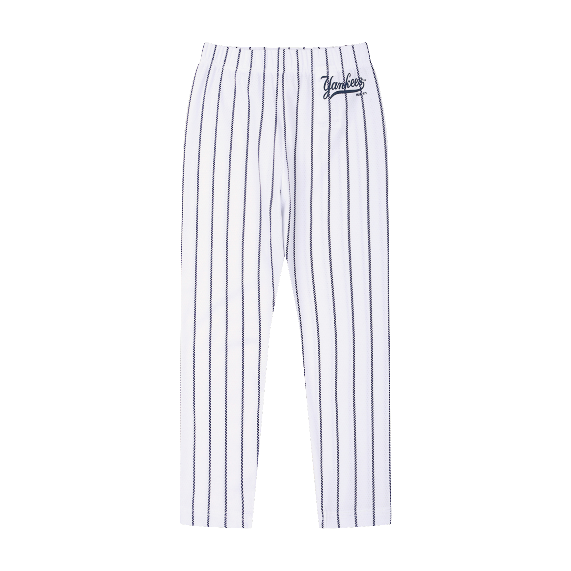 NEW YORK YANKEES STRIPE HALF LEGGINGS