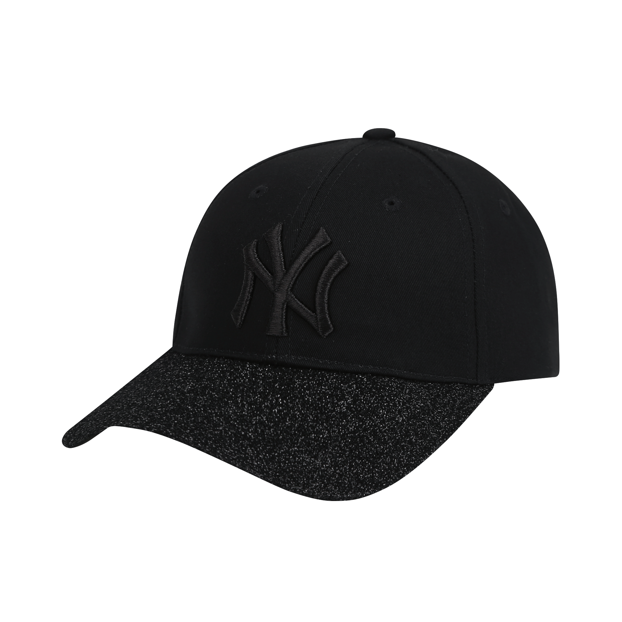 NEW YORK YANKEES GLITTER CURVED CAP