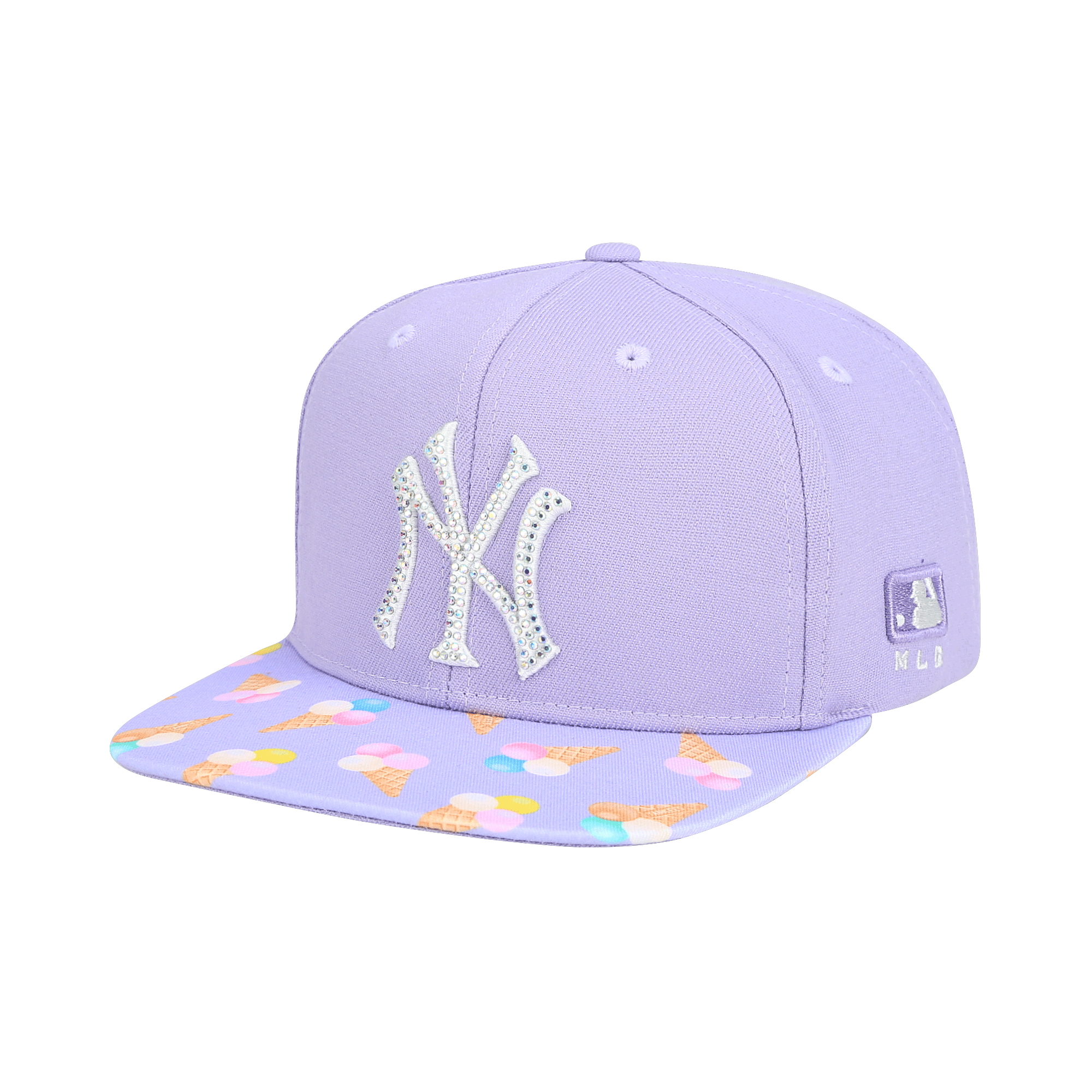 NEW YORK YANKEES ICE CREAM FLAT VISOR SNAPBACK