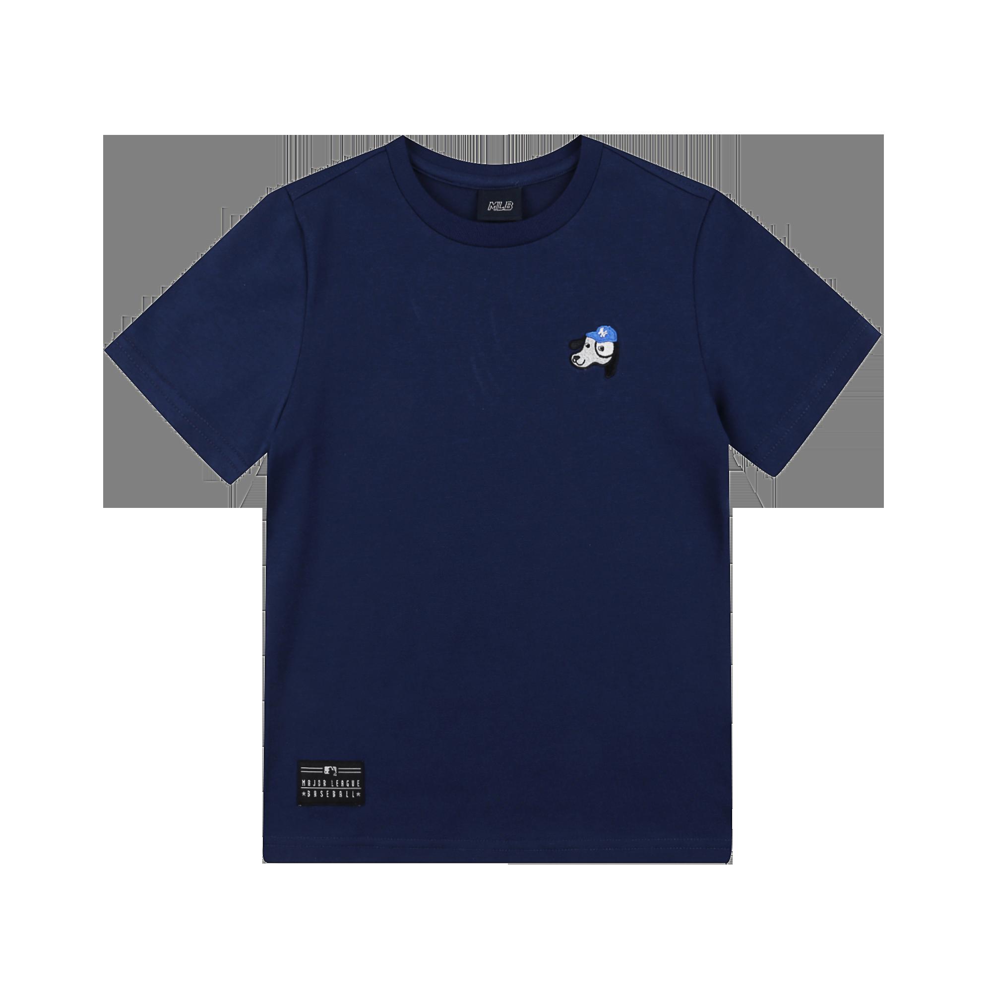 뉴욕양키스 바크 스몰 와펜 반팔 티셔츠