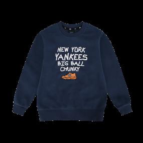 청키레터링 팝콘 오버핏 뉴욕양키스