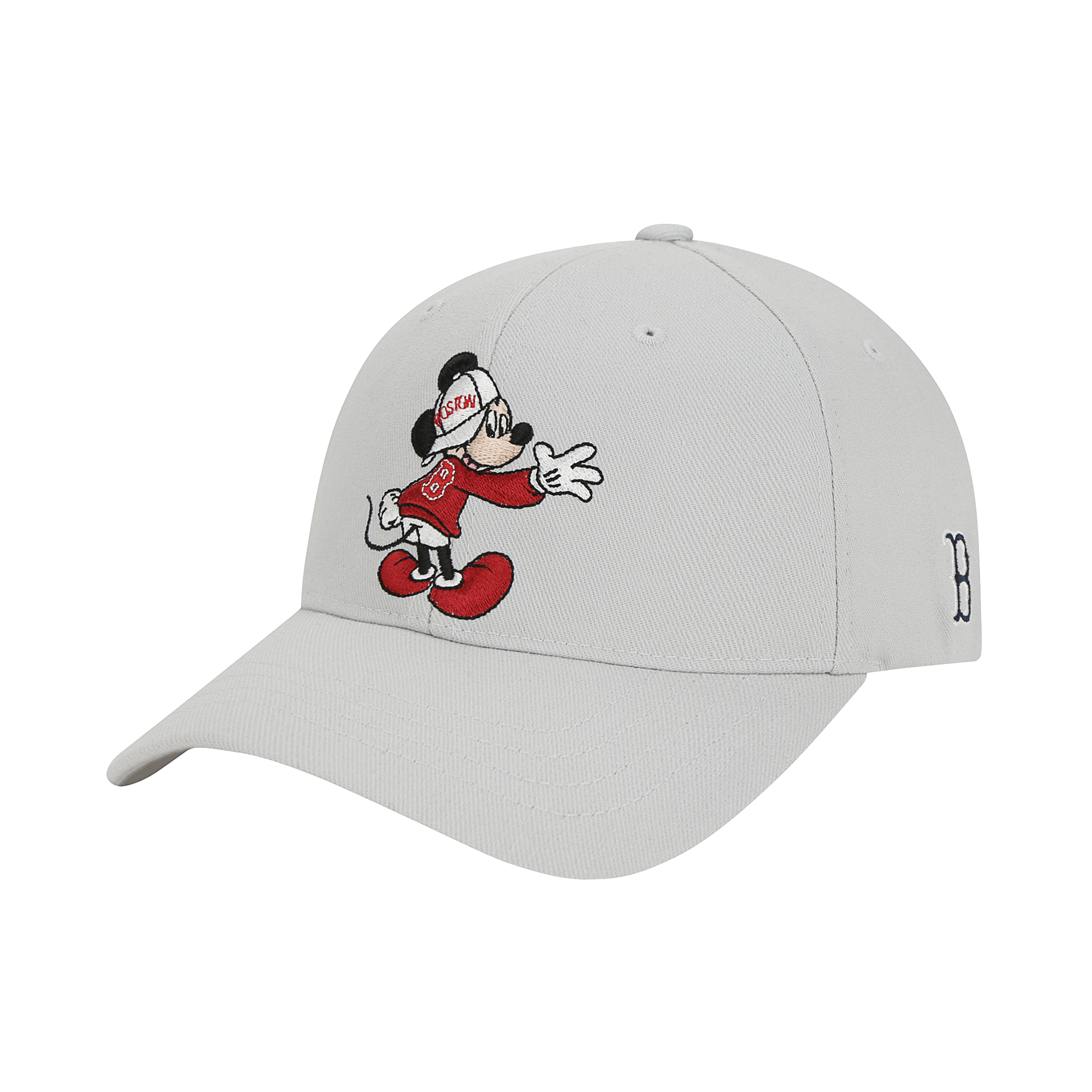 MLB x DISNEY 미키마우스 커브캡 보스턴레드삭스