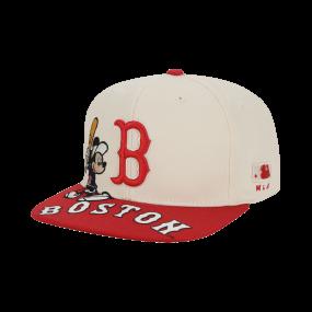 MLB x DISNEY 미키마우스 스냅백 보스턴레드삭스