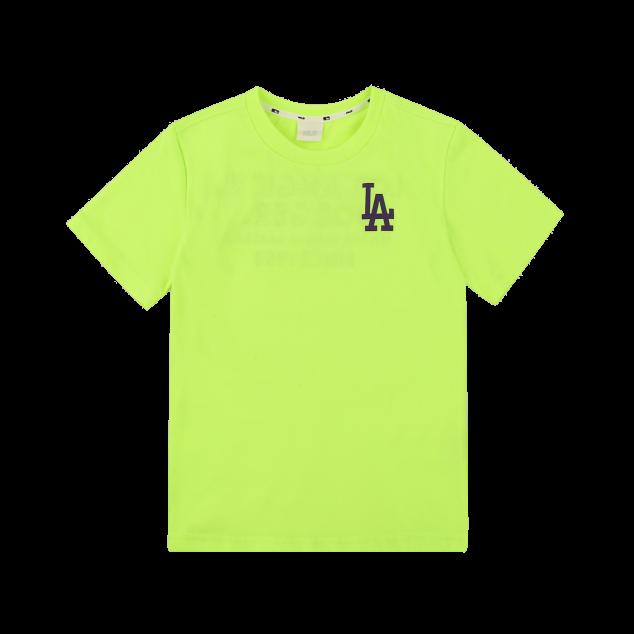 팝콘 레터링 반팔 티셔츠 LA다저스