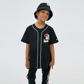 MLB x DISNEY 미키마우스 베이스볼 저지 클리블랜드인디언스