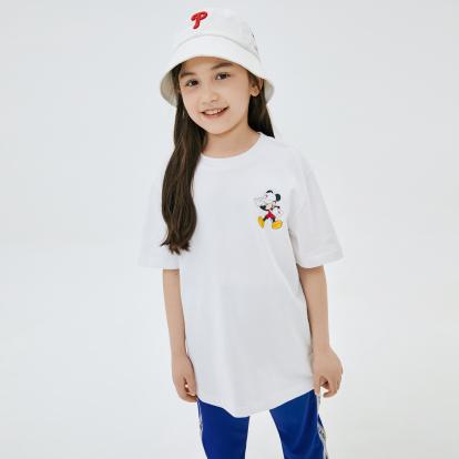 MLB x DISNEY 미키마우스 등판 빅로고 티셔츠 필라델피아필리스