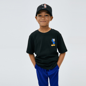 MLB x DISNEY 미키마우스 등판 빅로고 티셔츠 뉴욕양키스