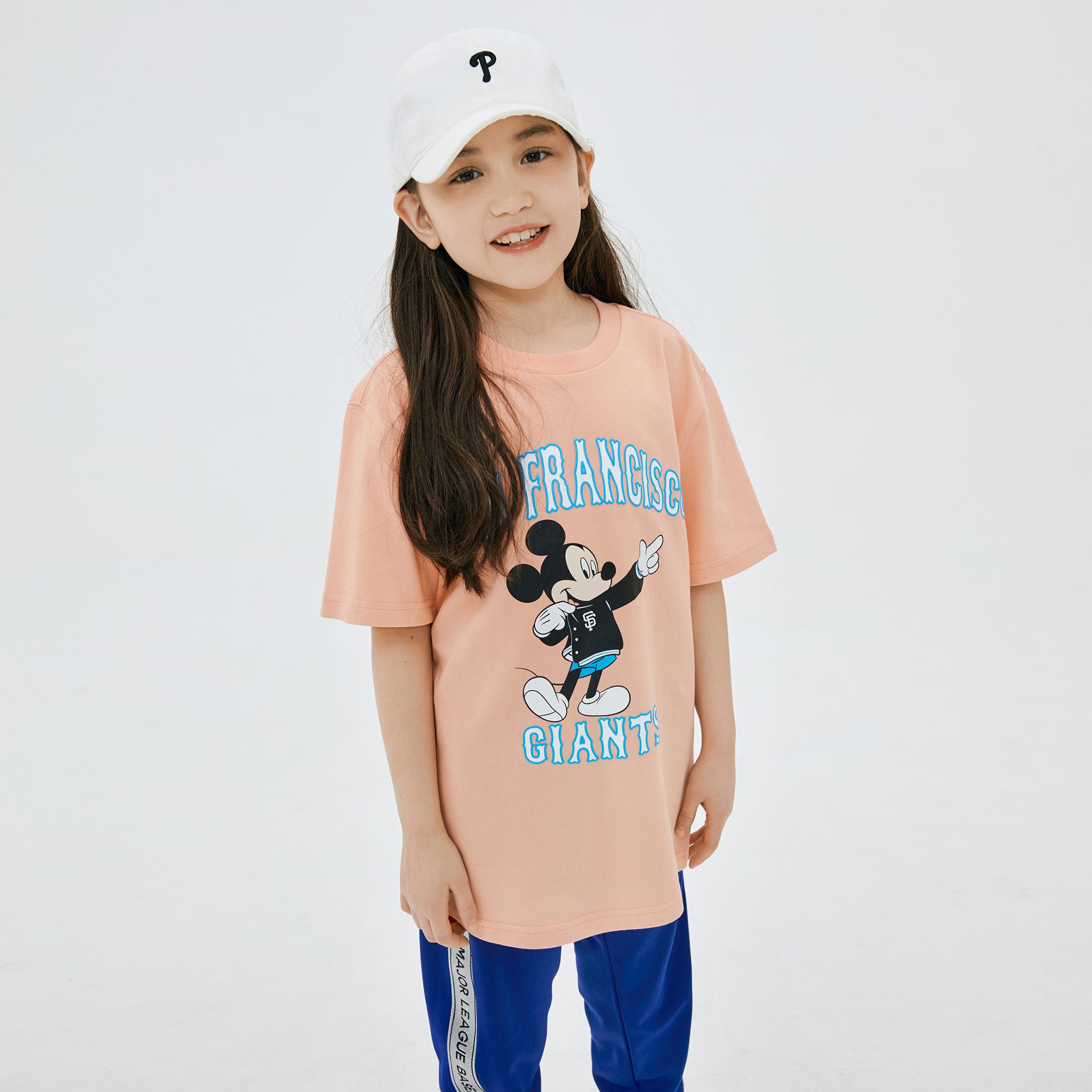 MLB x DISNEY 미키마우스 티셔츠 샌프란시스코자이언츠