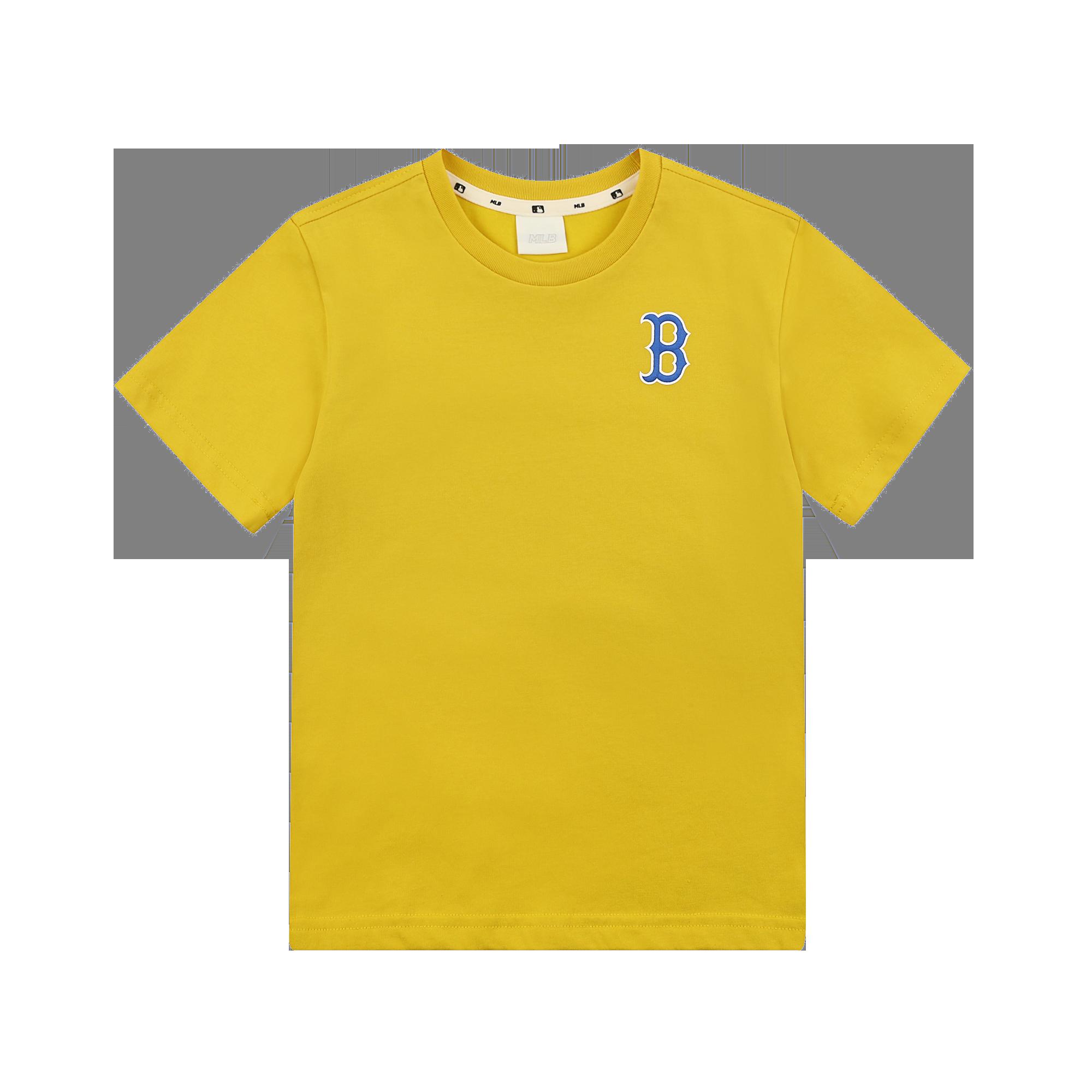 로고 실리콘 티셔츠 보스턴레드삭스
