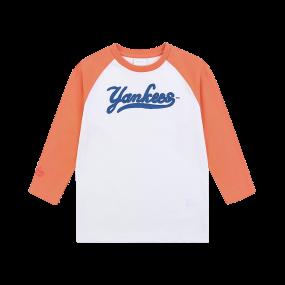 레터링 7부 티셔츠 뉴욕양키스