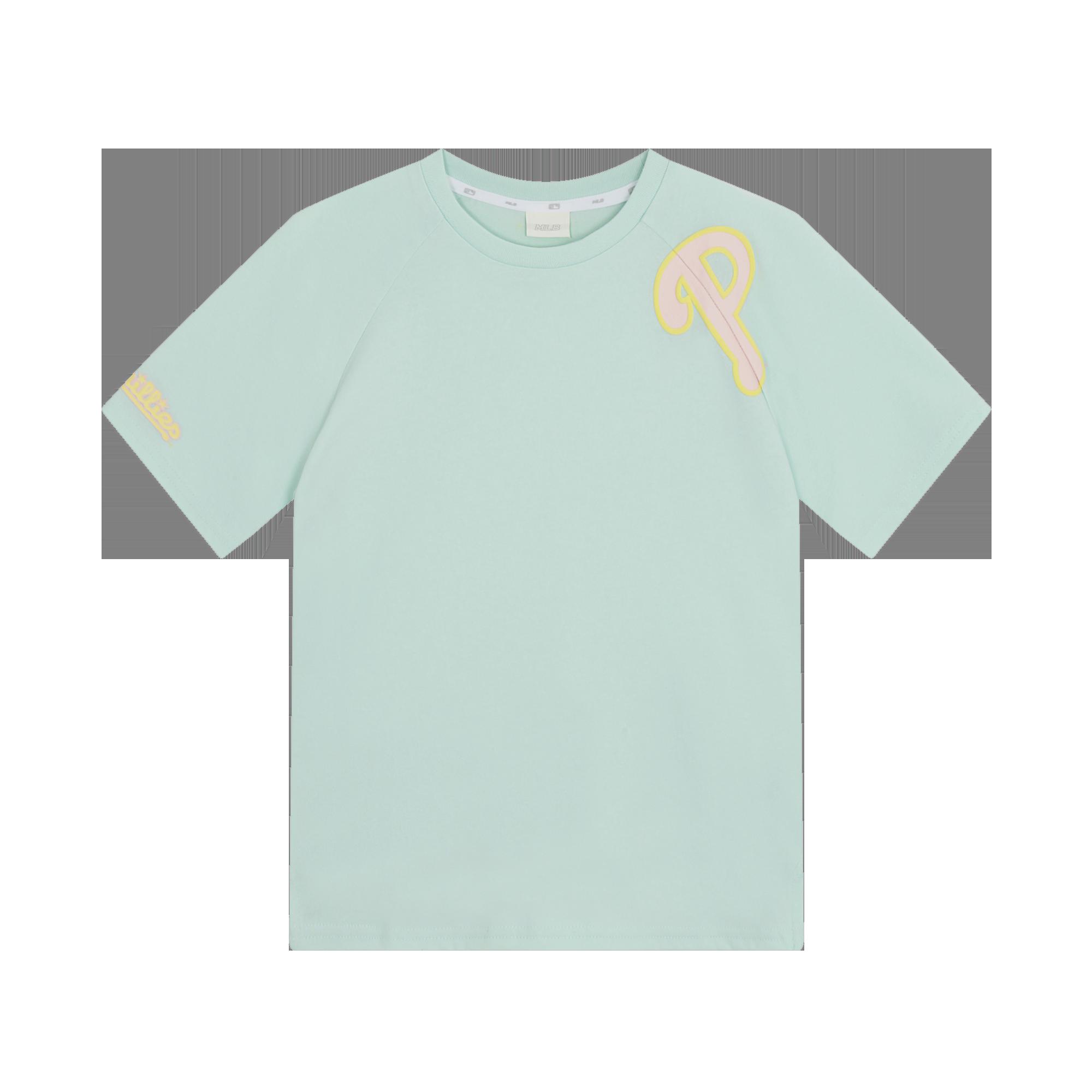 여아 마카롱 라글란 반팔 티셔츠 필라델피아필리스