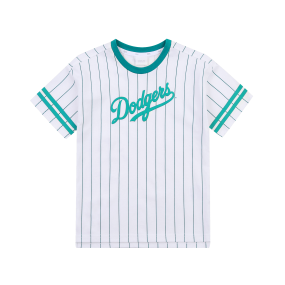 여아 스트라이프 컬시브 티셔츠 LA다저스