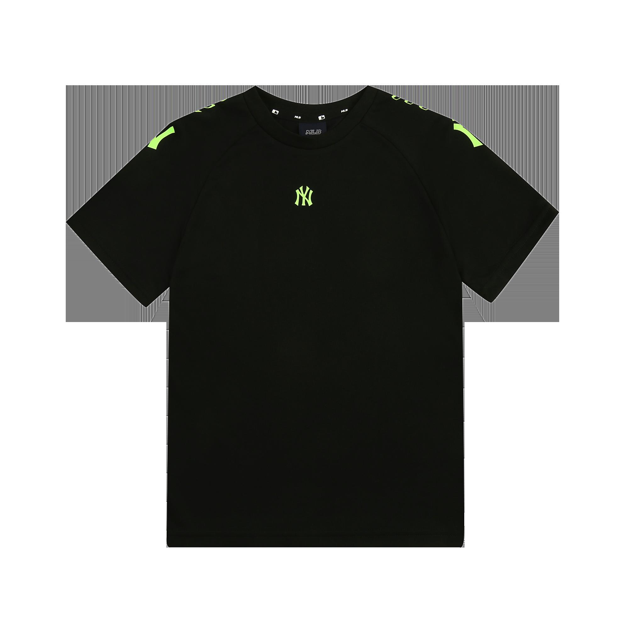 SEAMBALL 실리콘전사 오버핏 라글란 티셔츠