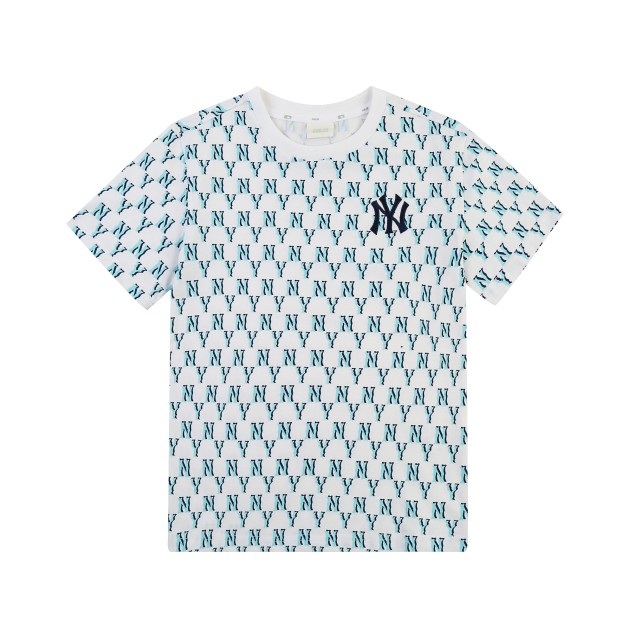 모노그램 전판 반팔 티셔츠 뉴욕양키스