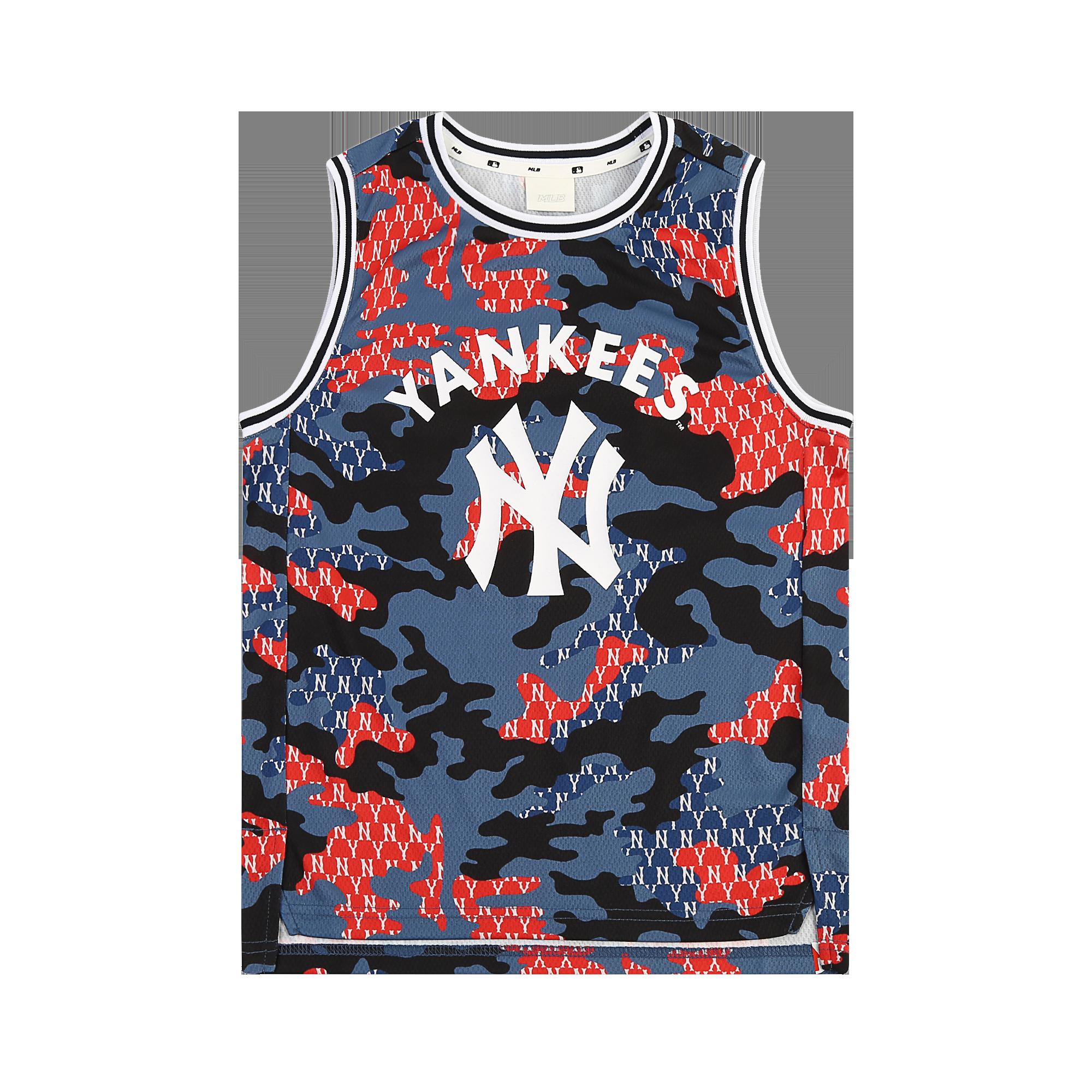 까뮤 모노그램 스트릿 티셔츠 뉴욕양키스
