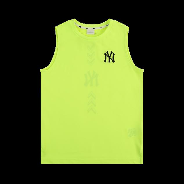 SEAM-BALL 실리콘전사 메쉬 배색 티셔츠 뉴욕양키스