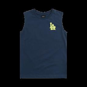 MLB LIKE 컴포트핏 민소매티 LA다저스
