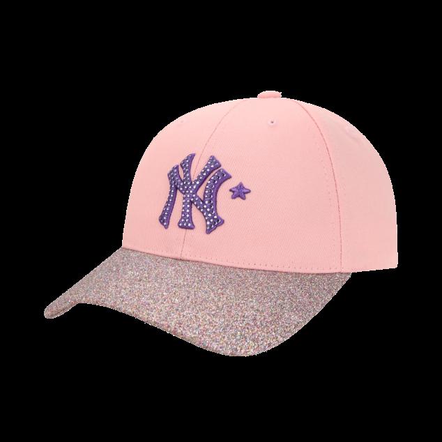 MLB LIKE 돌펄 청배색 커브캡 뉴욕양키스