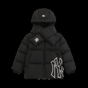 메가로고 구스다운 숏패딩 점퍼 뉴욕 양키스