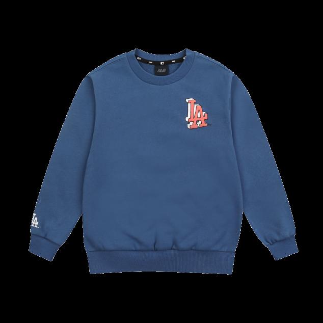 MLB LIKE 썬더스타 오버핏 기모 맨투맨 LA다저스