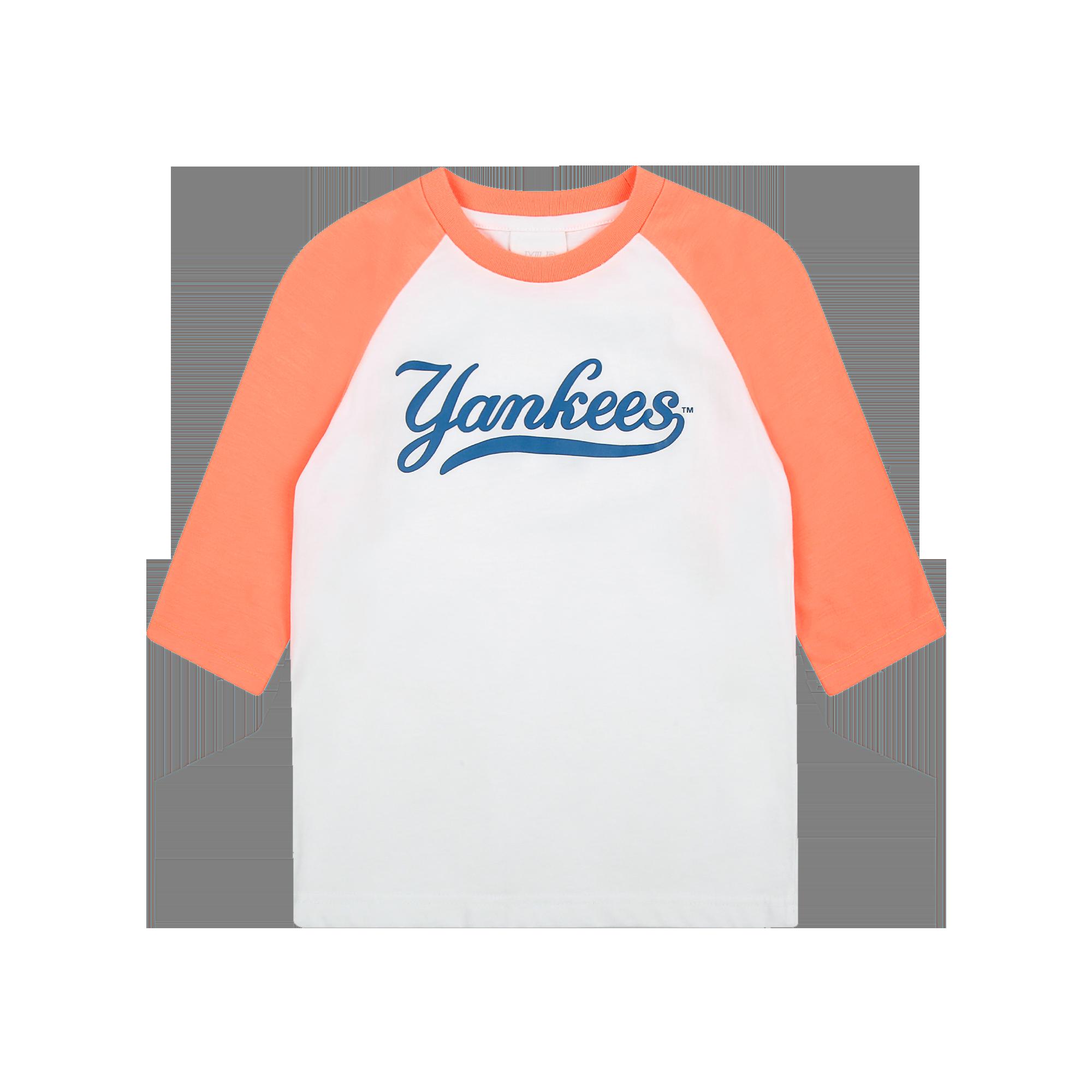 라글란 7부 소매 티셔츠 뉴욕양키스