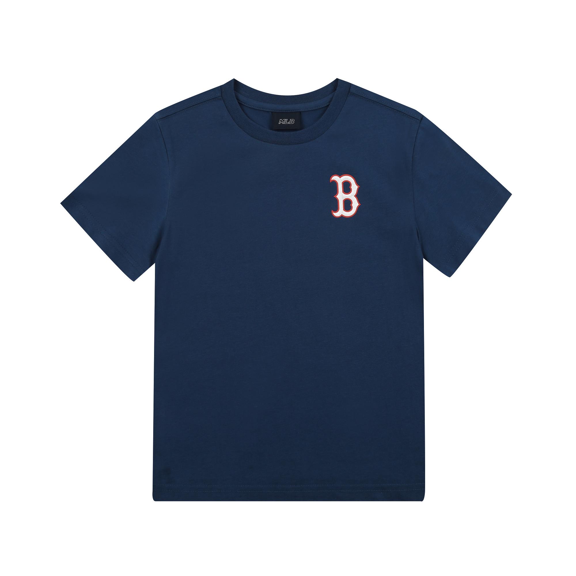 패밀리 프린트로고 티셔츠 보스턴 레드삭스