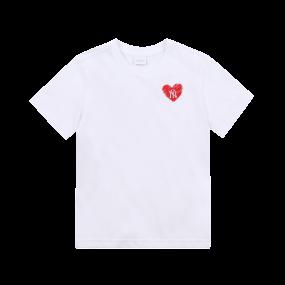하트 티셔츠 뉴욕양키스