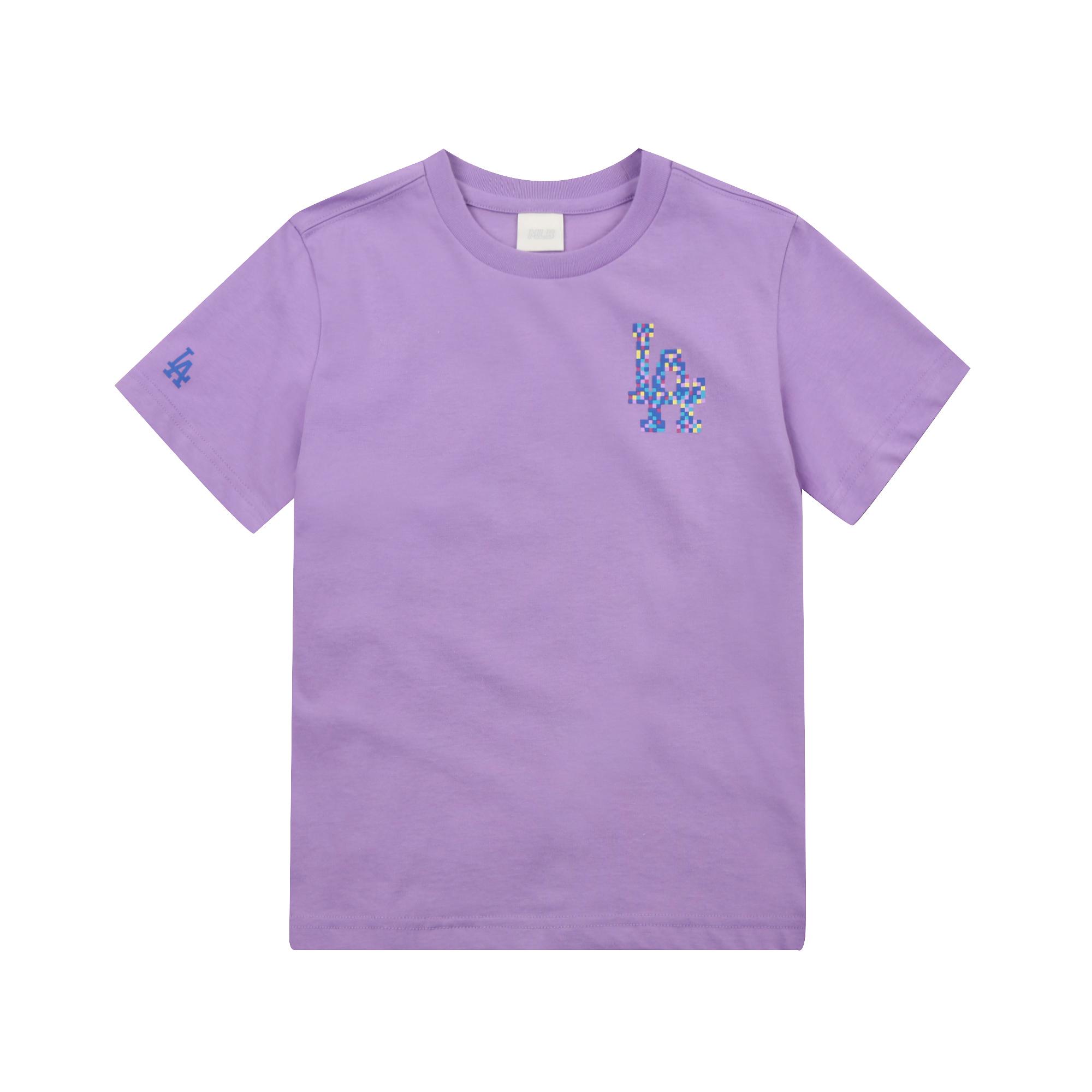 PLAY MLB 픽셀 로고 티셔츠 LA다저스